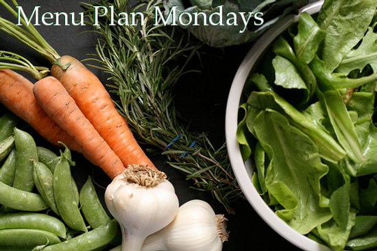 Menu Plan Mondays