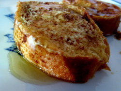 Sausage & Swiss Stuffed French Toast