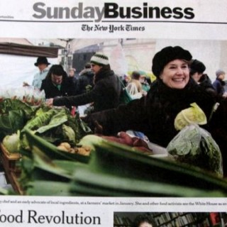 Real Food Hits The New York Times