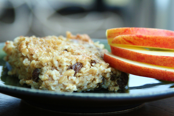 Baked Oatmeal Squares Recipe Food Renegade