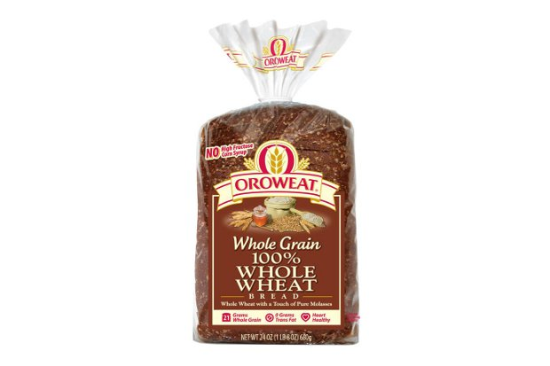 Whole Wheat Bread Food Label