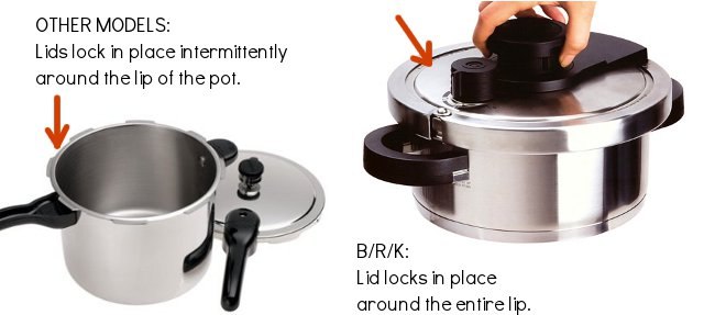 advanced BRK pressure cookers 3