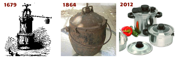 pressure cookers throughout history