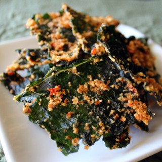 Kale Chips Sweet Spicy