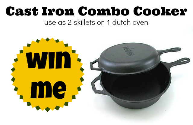 cast iron combo cooker win me