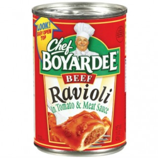Decoding Labels: Chef Boyardee Beef Ravioli