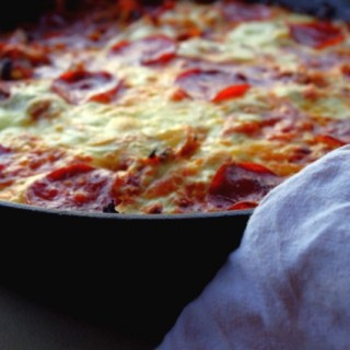 Grain-Free Cabbage Pizza Skillet
