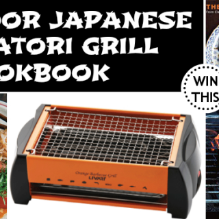 MAY GIVEAWAY: Indoor Japanese Yakatori Grill & Cookbook
