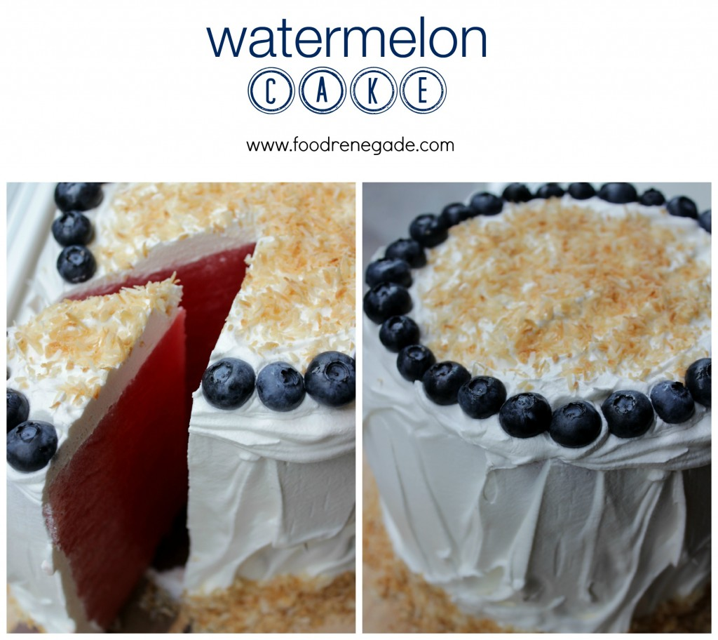 Watermelon Cake Pinterest