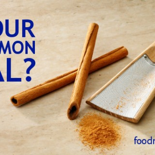 Is Your Cinnamon Real?