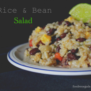 Rice and Bean Resistant Starch Salad