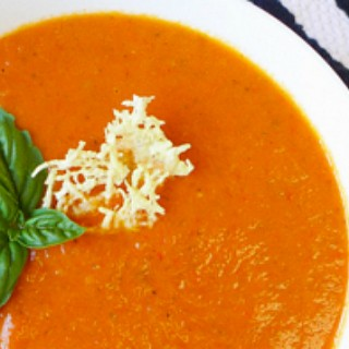 Crock Pot Tomato Basil Soup {Paleo-friendly}