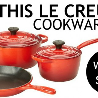MAY GIVEAWAY: Le Creuset Cookware Set (worth $450)