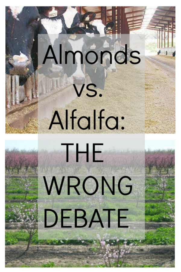 Almonds vs. Alfalfa