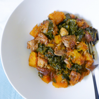 pork crock pot kale apricot garlic-1-2