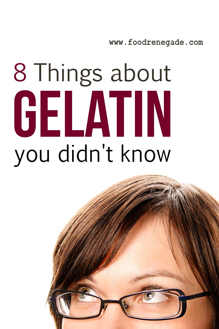 8 Things about Gelatin You Didn't Know