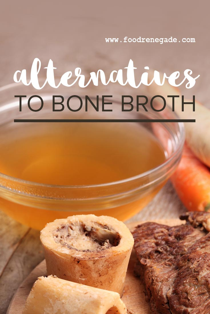 alternatives to bone broth